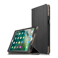 Case For iPad 9.7 2017 A1822 A1823 High quality Genuine leather Cover Mangetic Closure Case For iPad 9.7 2018 A1893 A1954 + Gift