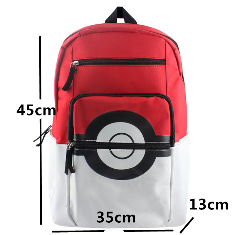 Pokemon Poke Ball Backpack