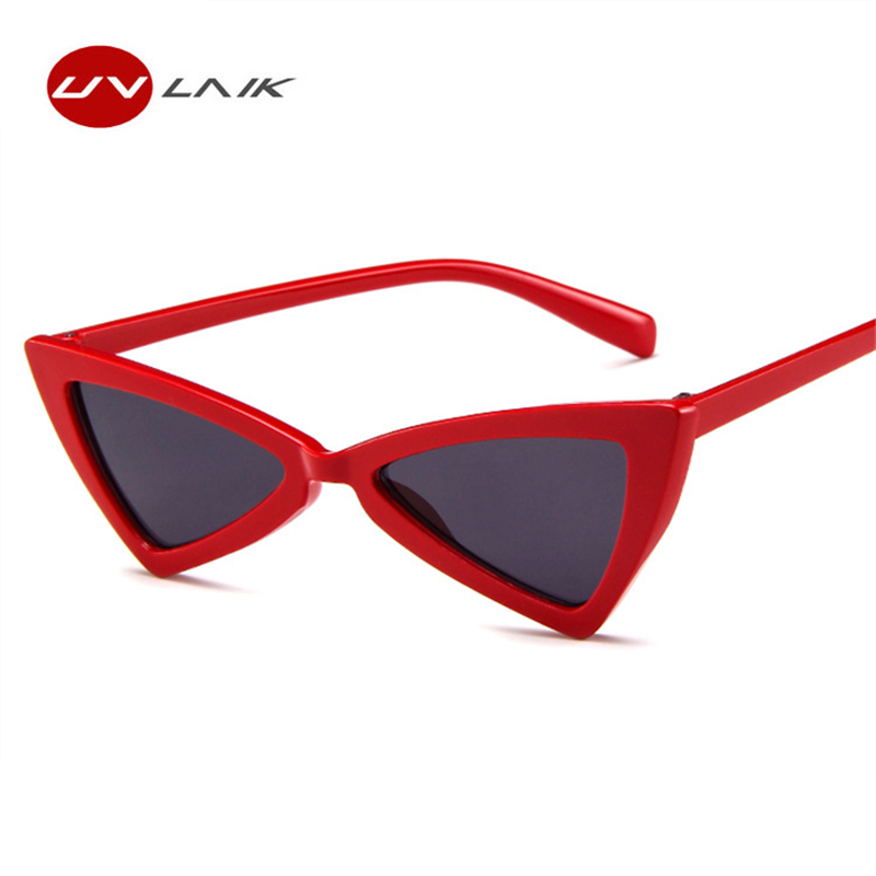UVLAIK Vintage Triangle Sunglasses s