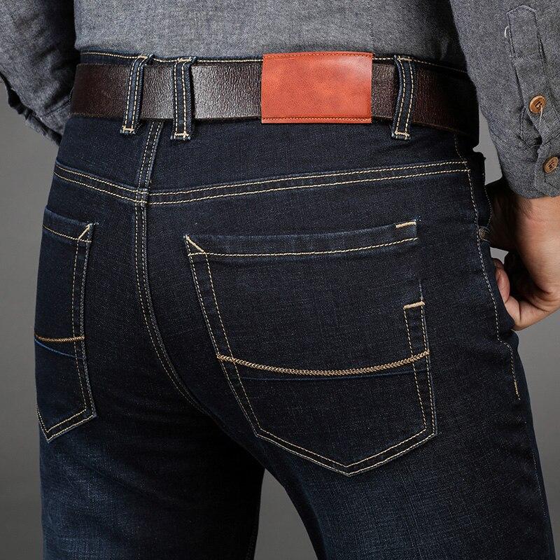 Men'S Jeans Pants Pantacourt Homme Black Biker Jean Classic Vaqueros Hombre Fashion Streetwear Blue Casual Baggy Joggers