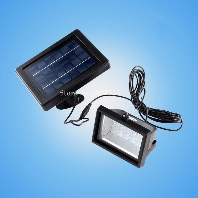 2pcs Lot New 30led Solar Powered Outdoor Light Project Lamp Led