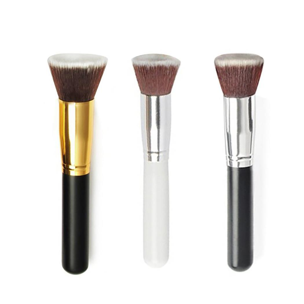 Makeup-Brush Liquid-Foundation-Kabuki Cosmetics Loose-Powder Flat-Top Portable Full-Coverage