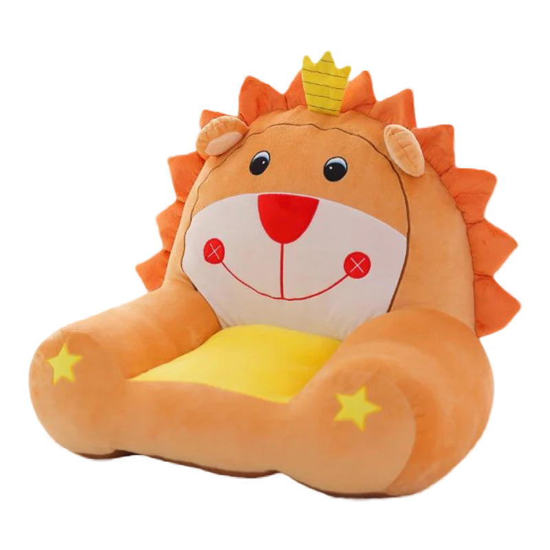 Fashion Cosy Baby Seat Cartoon Animal Armchaiir Cute Play Game Seat Chair Sofa Portable Chair Kids Plush Stuffed Toys E011 bath seat dining chair baby inflatable kids sofa baby chair portable baby seat chair play game mat sofa kids inflatable stool