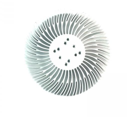 2 STKS 3/5/10 W high-power Zonnebloem circulaire Heatsink LED licht - Computer componenten - Foto 2