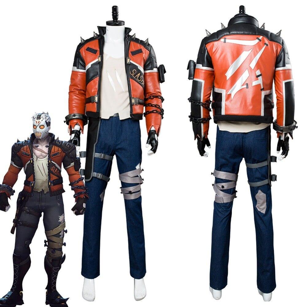 Overwatch 76 Soldier OW Jacket Coat Cosplay Costume Uniform Belt Strap Props