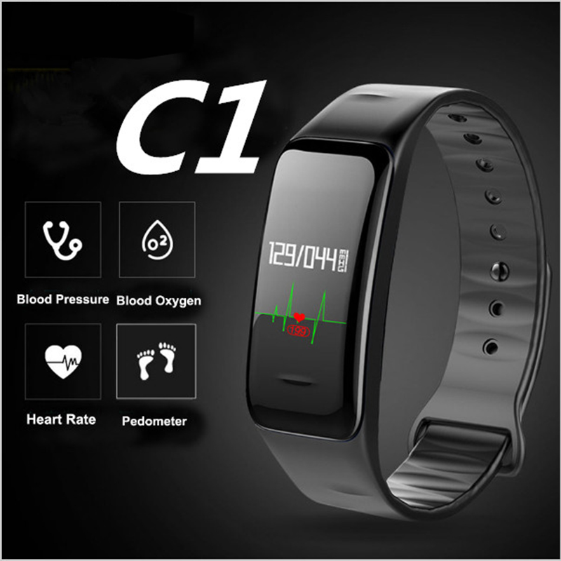 Bluetooth Smart Band Blutdruck & Pulsmesser Armband Wasserdichte Fitness Armband Schlaf Tracker uhr pk mi band 2
