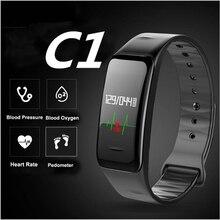 Bluetooth Smart Band Blood Pressure & Heart Rate Monitor Wristband Waterproof Fitness Bracelet Sleep Tracker watch pk mi band 2