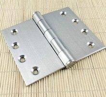 2 шт AIBOLI 4 «шарикоподшипник накладные петли из нержавеющей стальные дверные петли с винты мебель дверные петли дя гардероба