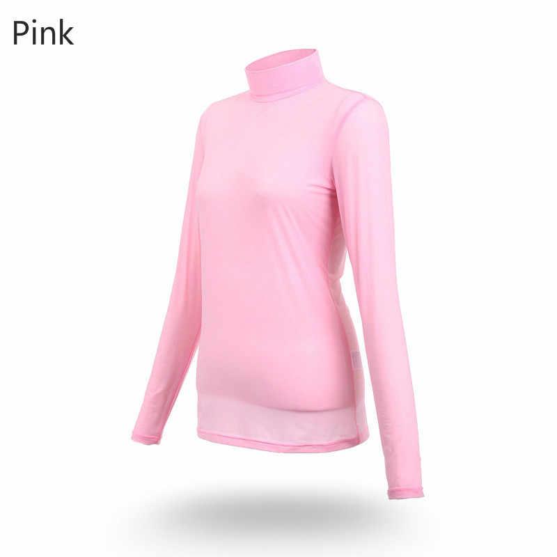 PGM оптовая продажа леди Sungreen Топ крутая футболка лето сжатия для женщин рубашка с длинными рукавами сухой Fit Ropa De Гольф Mujeres одежда