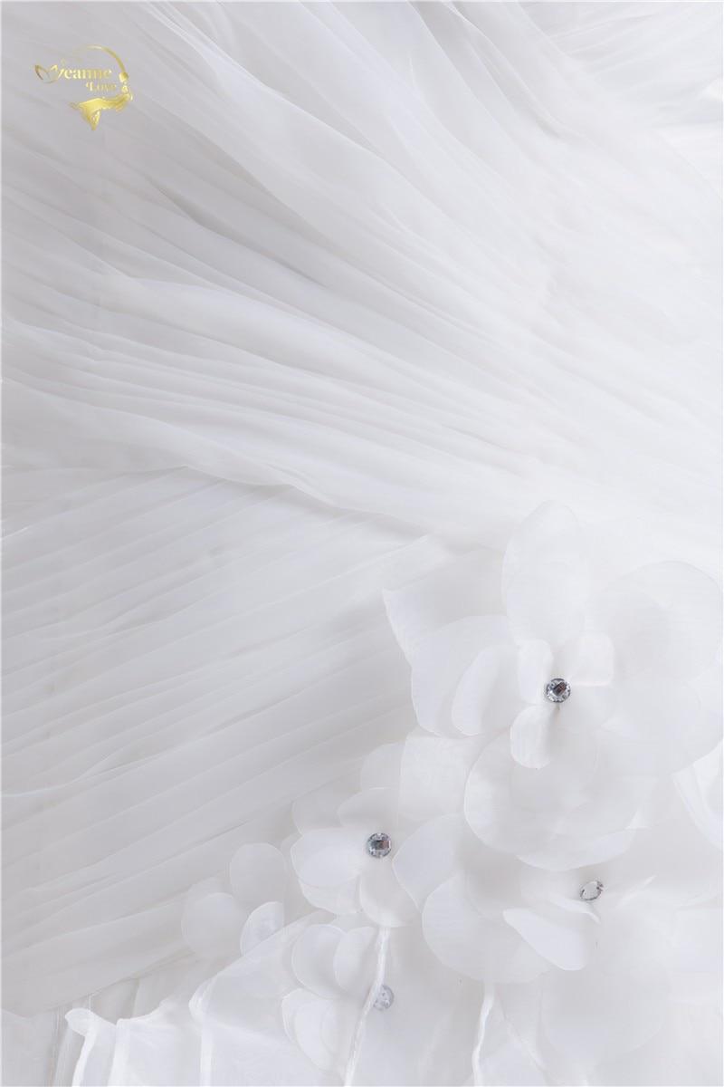 2016 Vit Louisvuigon Vestido De Noiva Robe De Mariage Brudklänningar - Bröllopsklänningar - Foto 6