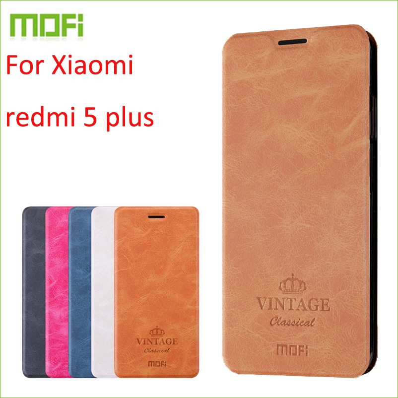 For Xiaomi redmi 5 plus Case MOFI Flip Case For Xiaomi redmi 5 Plus High Quality PU Leather Stand Cover For Xiaomi redmi 5 plus|flip case|xiaomi case|leather case - title=