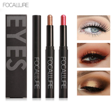 hot deal buy focallure 12 colors eyes makeup liner glitter shimmer sparkly eyeshadow pencil sticker easy to wear long lasting makeup tools