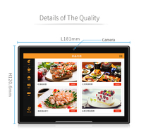 7 Inch Wifi Touch Screen Android Smart Desktop Digital Picture Frame Dual Core A23 512MB DDR3