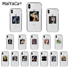 MaiYaCa Mona Lisa Art David Colorful Cute Phone Case for iphone 11 pro 8 7 66S Plus X XS MAX 5S SE XR Mobile Cover