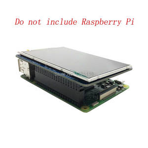 Image 2 - التوت بي 3.5 بوصة LCD 800x480 60fps TFT شاشة HD عالية السرعة وحدة LCD 3.5 عرض ل Pi 3B + 2B B + صفر WH
