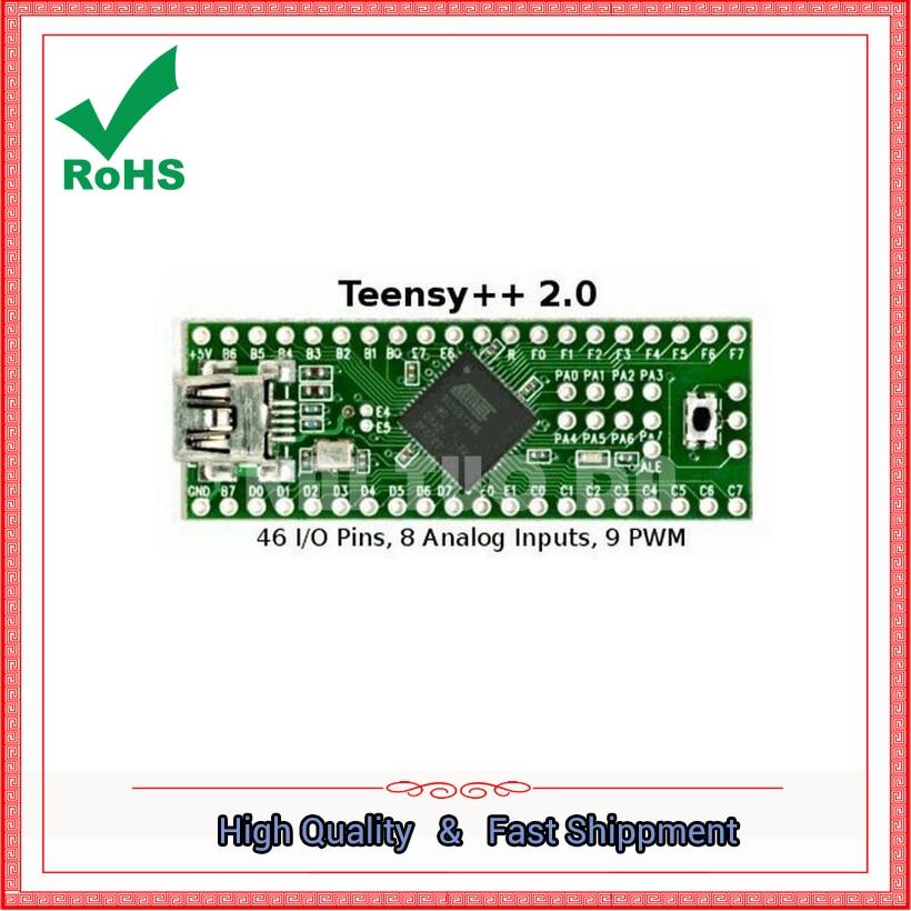 Teensy 2.0 + USB AVR Development Board for Keyboard Mouse ISP U Disk Test Board AT90USB1286 moduleTeensy 2.0 + USB AVR Development Board for Keyboard Mouse ISP U Disk Test Board AT90USB1286 module
