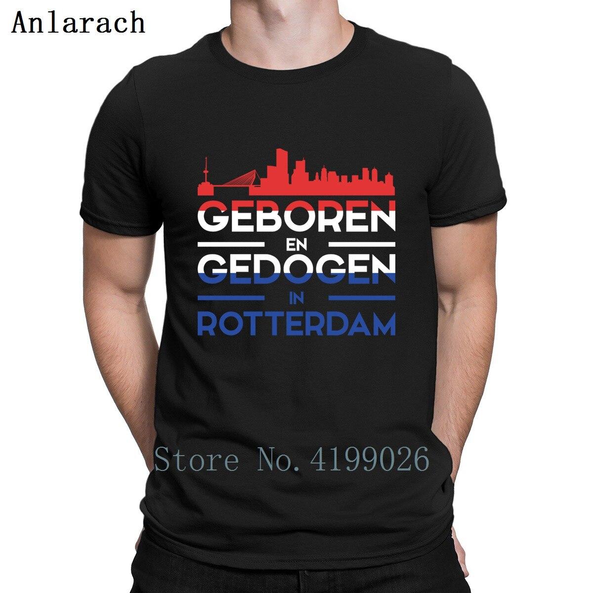 6c340658e623 Rotterdam Citytrip Presente Turismo T Personalizado Camisa Estilo Verão  Roupas de Fitness Mens T Camisas Tamanho Euro S-3xl Carta Venda Quente