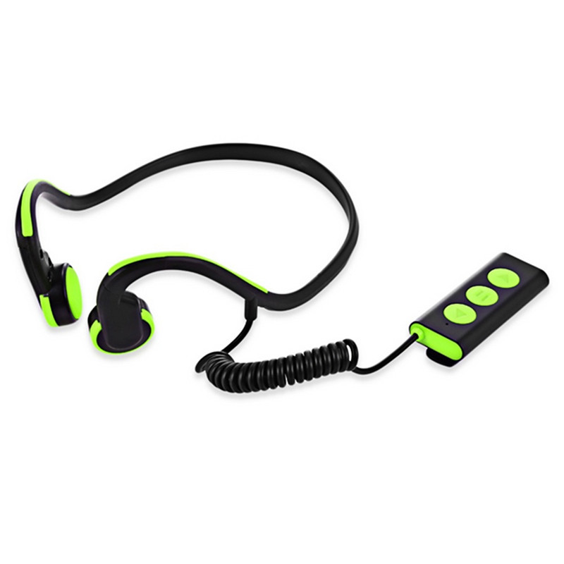 Wireless Bluetooth Earphone Bone Conduction Headset with Microphone for iPhone Noise Cancellation Over ear Auriculares J15