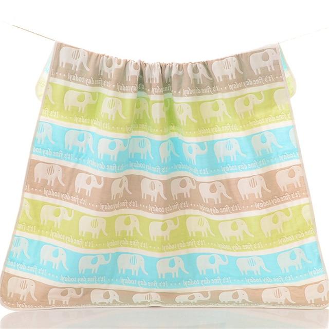 Kawaii Baby Bath Towel 80*80CM 100% Soft Cotton Comfortable Drying Bath Baby Towel Baby Blanket Bath Towel for The Baby TT058