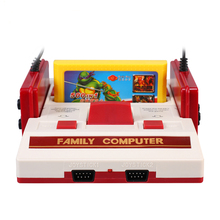 POWKIDDY 8 bit HDMI out TV Game Player Classic Red White games Video Game Console cartridge/Yellow Card Plug-in Card Games NTSC