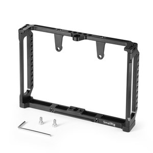 Image 2 - SmallRig 7 Inch Monitor Cage for Feelworld T7 703 703S and F7S Monitor Protective Cage With Nato Rail Threading Holes   2233