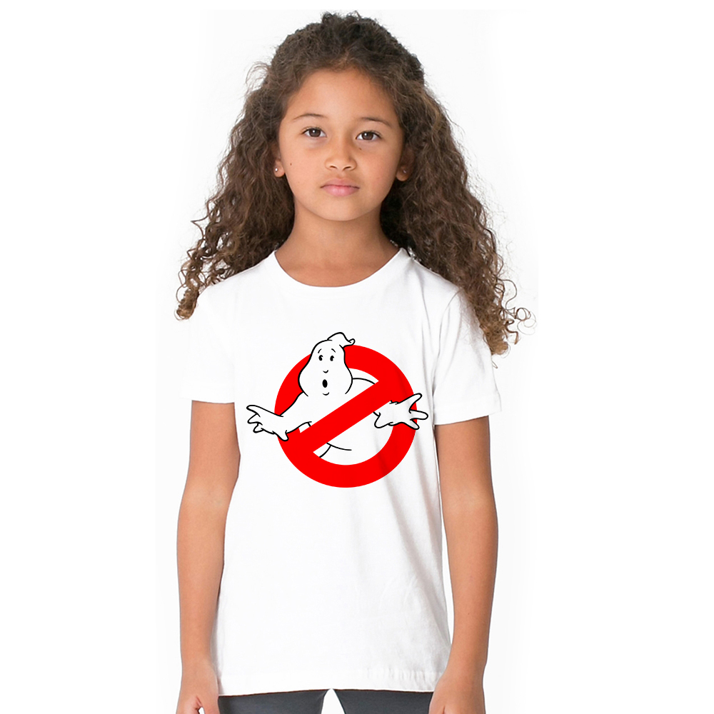 1-12Y Unisex Children Ghost Busters T Shirt Boys and Girls Tshirts Casual Short Sleeve Tops Kids Ghostbusters T-Shirt Baby Tops