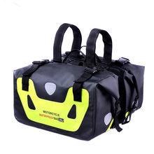 CUCYMA 50L Waterproof Motorcycle Saddle Bags Moto Racing Travel Luggage Multi-Function Tank Bag Motorbike Saddlebags Suitcase