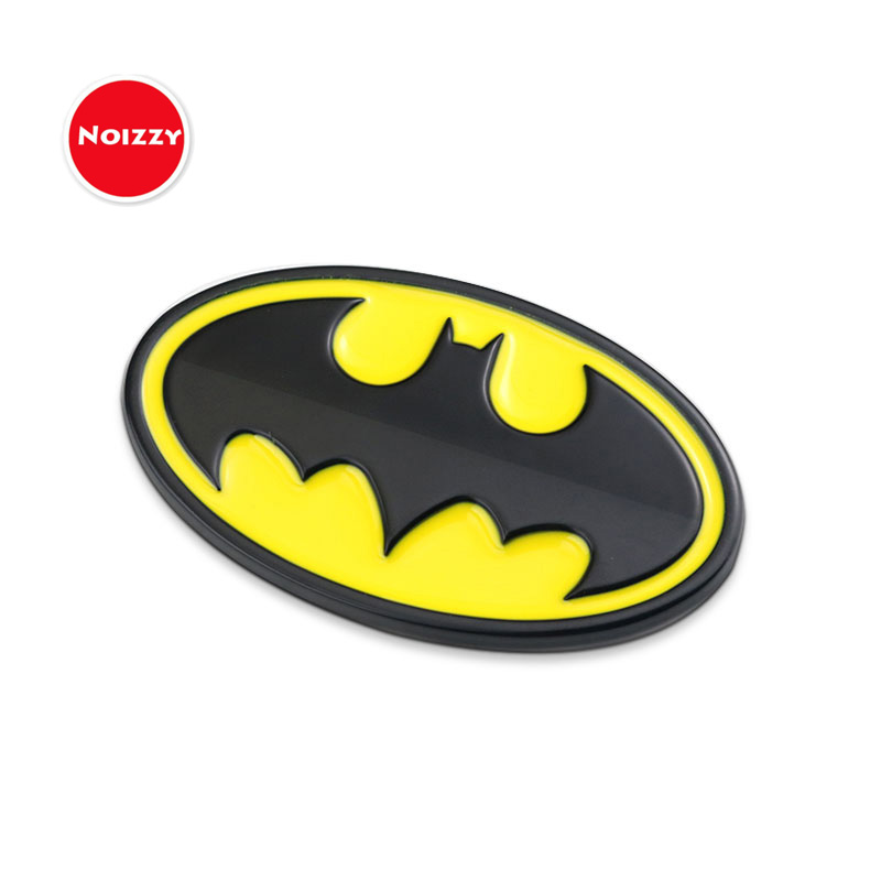 Noizzy 2017 New Batman Bruce Wayne Car Sticker Emblem Badge Auto Motorcycle 3D Metal Automobile Accessories Tuning Car-Styling auto chrome camaro letters for 1968 1969 camaro emblem badge sticker