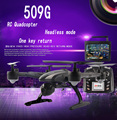 JXD 509G JXD509G 5.8G FPV One-Key-return & Take Off Barometer Set High RC Quadcopter with HD Monitor RTF