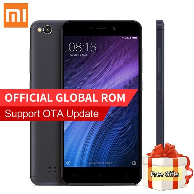 Оригинал xiaomi redmi 4а мобильный телефон snapdragon 425 quad core 2 ГБ RAM 16 ГБ ROM 13.0MP Камера 1280x720 P MIUI 8.1 3120 мАч Redmi4A