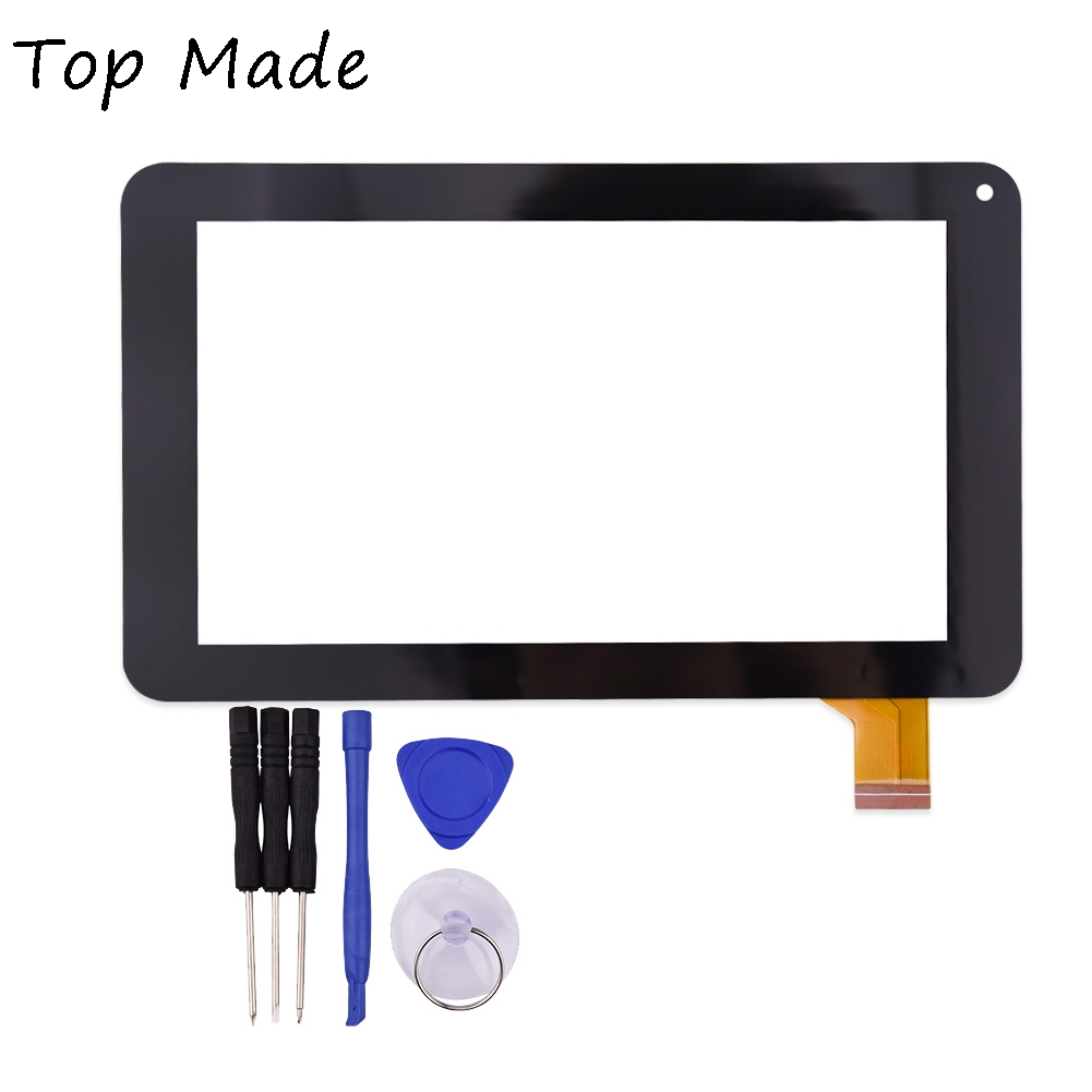 New Black Touch Screen for Explay N1 irbis TS70 Oysters T72MD Supra M741 Mystery MID-721 MID722 7 inchTablet Panel Digitizer for explay dream lcd touch digitizer screen for explay dream with capacitive multitouch screen black color by free shipping