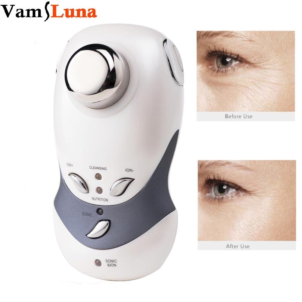 Ultrasonic Face Cleaning Skin Care Machine For Face Lift, Wrinkle Removal & Skin Lifting of Deep Cleansing