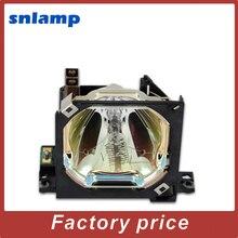 100% Оригинальная лампа проектора V13H010L08/ELPLP08 с корпусом для EMP-8000 EMP-9000