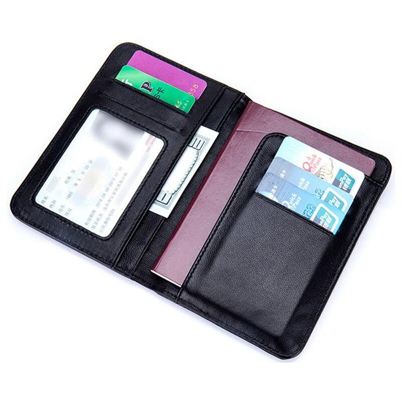 Sheepskin High quality Genuine leather passport holder ... Designer Passport Holder