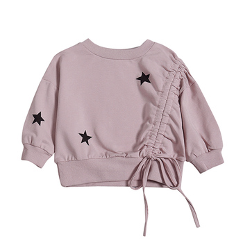 Baby Clothes Top Girl Long Sleeve Sweatshirt Baby Girl T-Shirt Top Princess Kids Clothes Girl Clothing Fashion Blouse T-Shirts