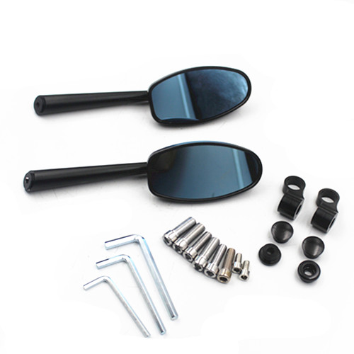Dirt bike 8mm 10mm CNC Aluminum Motorcycle Rearview Mirrors For Honda Yamaha Kawasaki KTM Cafe Racer