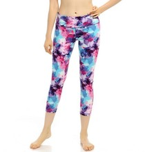 Running Tights For Girl Pantyhose With Print GMY Leggings For Running Skins Compression Pants Elastic Sport Trousers For Women