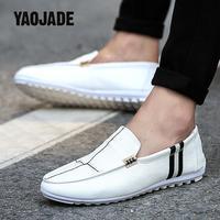 Весной и летом обувь Для мужчин; Корейская версия Горох обувь педали обувь для вождения Для мужчин хорошей воздухопроницаемостью и хорошее