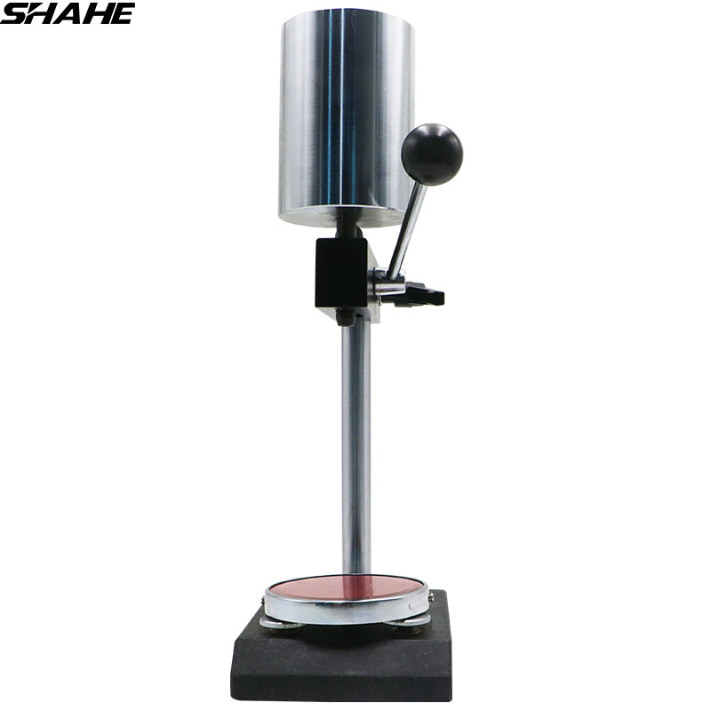 shahe Manual hardness Test stand Durometer for shore D test gauge stand