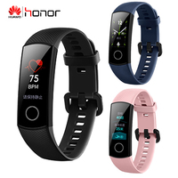HUAWEI HONOR Band 4 Smart Wristband real time accurate heart rate scientific sleep monitoring 50m waterproof Wearable Standard
