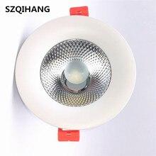 ホット販売調光可能なcob ledダウンライトcob天井スポットライト 7 ワット 10 ワット 15 ワット 20 ワット天井凹型ライト屋内照明