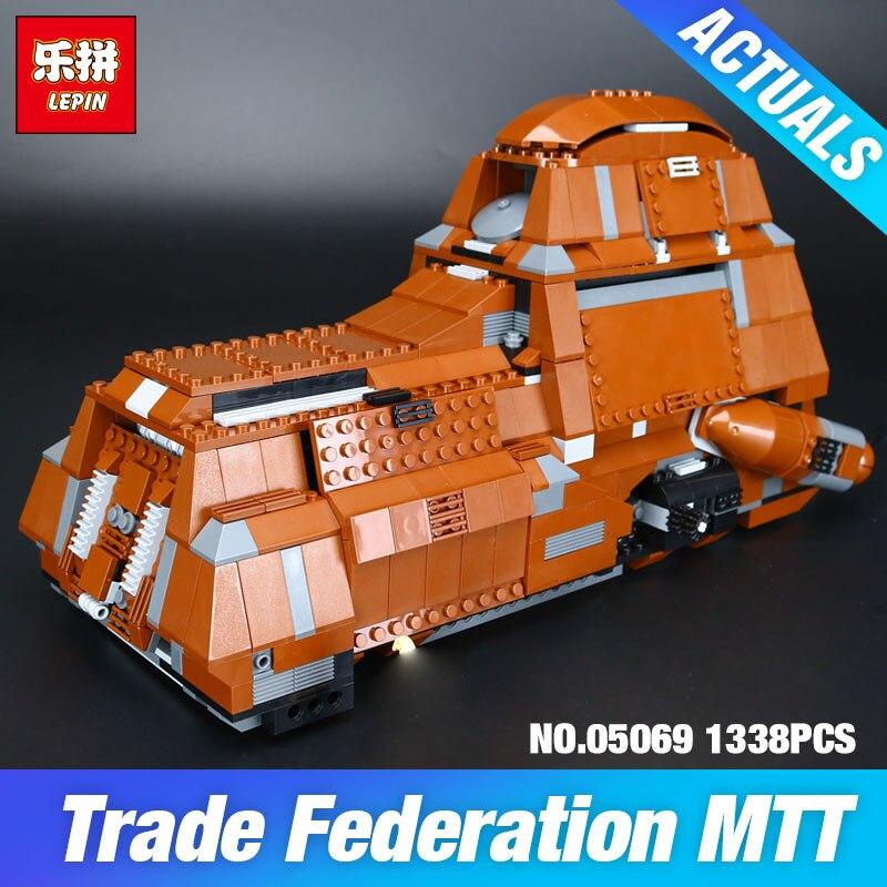 Lepin 05069 Star Wars Serie Tanque de Transporte de La Federación Establece 1338