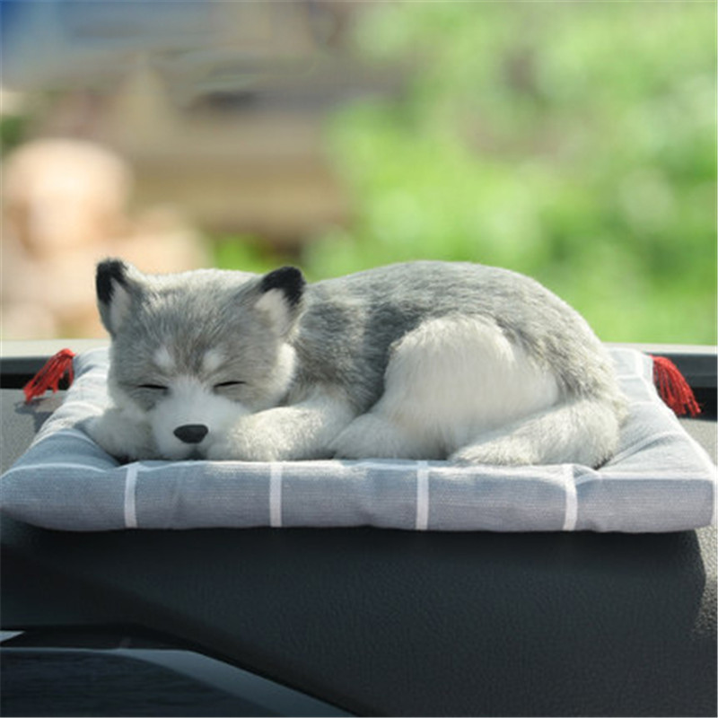 cats plush toy doll stuffed soft dog plush kawaii Husky dolls Simulation animals toys for children kids car decoration gifts new creative simulation plush soft fox naruto toy polyethylene