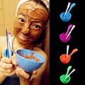 4 in 1 Women Lady Beauty Girls Makeup DIY Facial Mask Mixing Bowl Brush Spoon Stick Face Care Make Up Cosmetic Tool Set