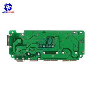 Image 2 - LED Dual USB 5V 2.4A Micro/Type C/Lightning USB Power Bank 18650คณะกรรมการชาร์จOvercharge overdischargeป้องกันการลัดวงจร