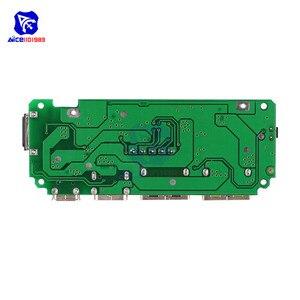 Image 2 - LED çift USB 5V 2.4A mikro/tip c/yıldırım USB güç bankası 18650 şarj kartı Overcharge aşırı deşarj kısa devre koruması