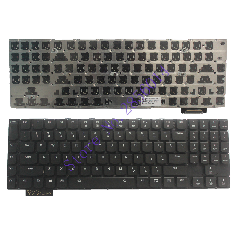 NEW  English FOR Lenovo Gaming Y900 Keyboard Backlit US No Frame  цены онлайн