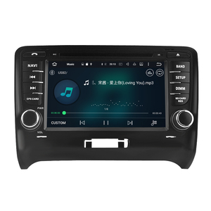 "Image 3 - 7"" IPS Android10.0 car DVD Player For Audi TT 2006 2012 Car Stereo 2 Din Audio Radio GPS Navigation Bluetooth FM WiFi Multimedia"