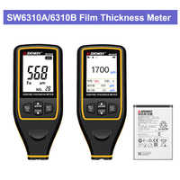 SW6310A/6310B Car Paint Film Meter Tester Coating Measure Thickness Gauge Digital Portable Mini Thickness Gauge Tester