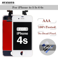 AAA Grade LCD Display Digitizer For IPhone 4 4s 5 5s Touch Screen Replacement Assembly For